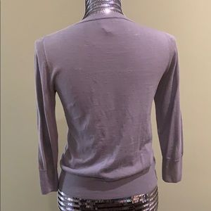 J. Crew Sweaters - Super lightweight muted purple cardigan